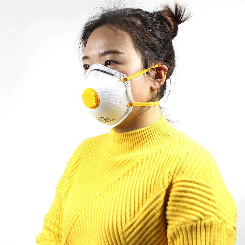 Breathe Valve Cup Shaped Mask